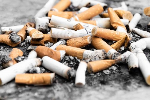 Slika - Pusenje depresije cigarete