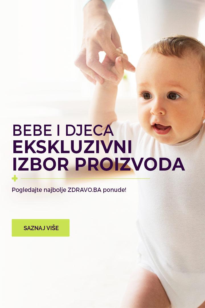 Odabrani proizvodi za bebe i djecu na www.zdravo.ba