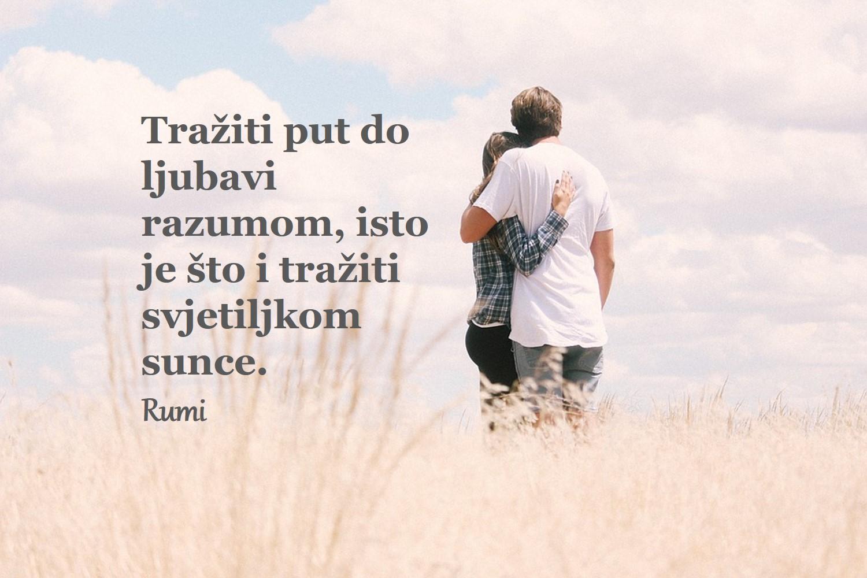 Ljubav, zaljubljenost, Rumi