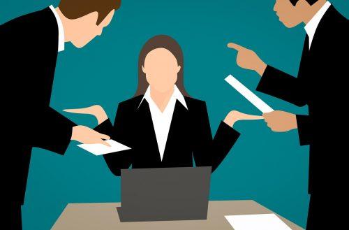 Slika: mobing - zlostavljanje na poslu