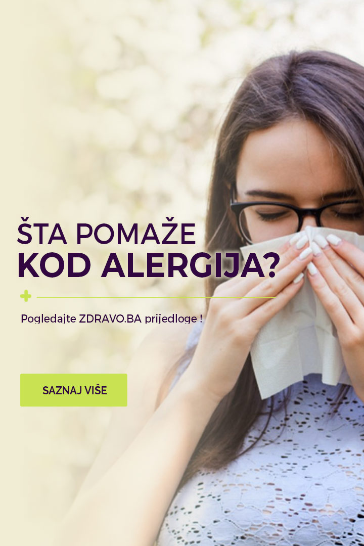 Odabrani proizvodi za alergije na www.zdravo.ba