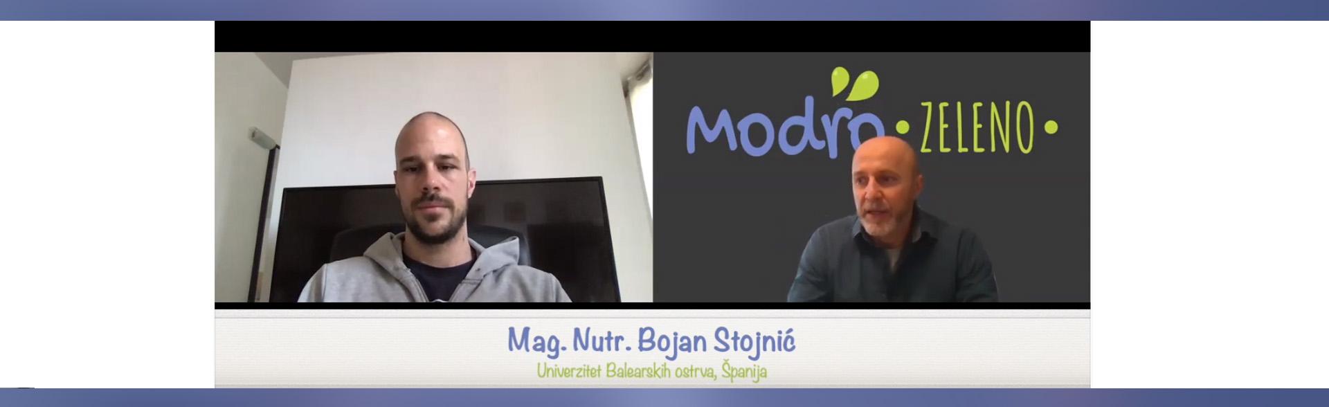 Intervju - Bojan Stojnic - Zdrava hrana i trendovi u nutricionizmu