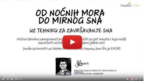Video PTSTP i NOCNE MORE - kako si pomoći?