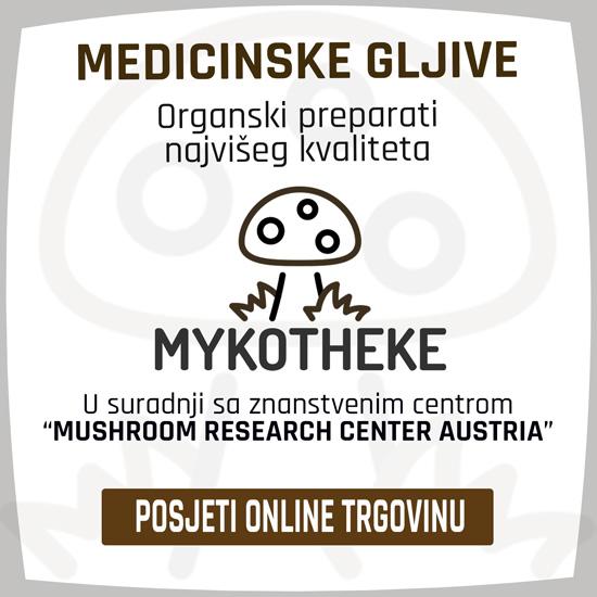 MYKOTHEKE - Medicinske ljekovite gljive